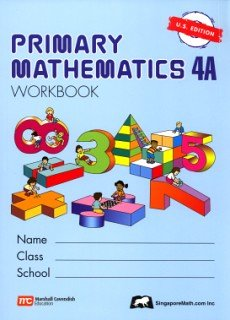 Primary Mathematics 4A-WORKBOOK (US Edition)