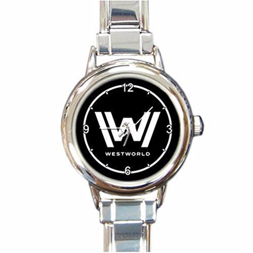 WestWorld Logo Custom Design Round Italian Charm Watch Limited Edition#1