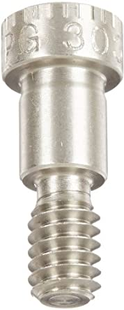 13//16 Shoulder Length Meets ASME B18.3 1//2 Thread Length Socket Head Cap Hex Socket Drive Partially Threaded Made in US, Pack of 1 Standard Tolerance 18-8 Stainless Steel Shoulder Screw 5//16-18 Threads 3//8 Shoulder Diameter Plain Finish