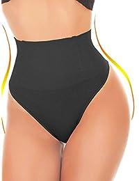 SEXYWG Women Waist Cincher Girdle Tummy Control Thong Panty Slimmer Body Shaper