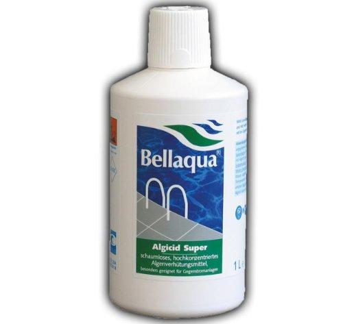 Algicid Super Pool Schwimmbad Algenvernichter Algen Algizid 1L Bellaqua 745