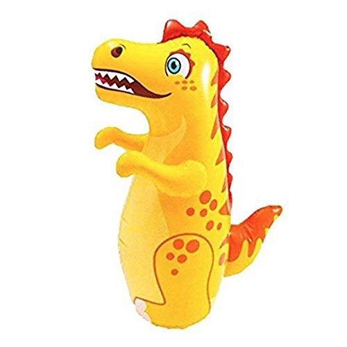 3-D Bop Bag Blow Up Inflatable Dinosaur Toy