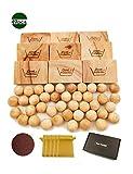 L.M&L.W. Aromatic Cedar Blocks and Balls Drawer Liners - Pack of 49