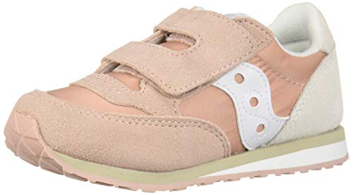 Saucony Girls' Baby Jazz HL Sneaker Pink/Cream 100 Medium US Toddler