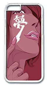 Face Painting Dream Custom iphone 6 4.7inch Case Cover Polycarbonate Transparent by runtopwellby Maris's Diary
