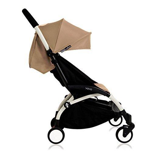 Babyzen YOYO+ Stroller, White/Taupe
