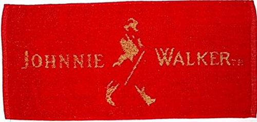 "Johnnie Walker Whisky Cotton Bar Towel 20"" x 10"" (pp)"