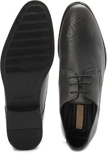 d1358784082 Van Heusen Men s Black Formal Shoes - 10 UK India  Buy Online at Low Prices  in India - Amazon.in