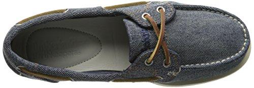 Timberland Damen Classic Boat_classic Canvas Boat Bootsschuhe Blau (Blue Denim)