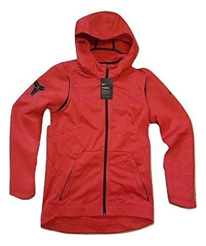 Nike Kobe Therma Hyper Elite Men's Full Zip Jacket Hoodie Size S Red (Kobe Nike Hoodie)
