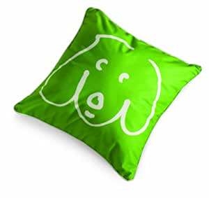 Crypton William Wegman Doodle Dog Pillow, Kermit