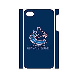 Comfortable Hipster Pop Hockey Team Logo Dustproof Phone Accessories for Iphone 4 4s Case
