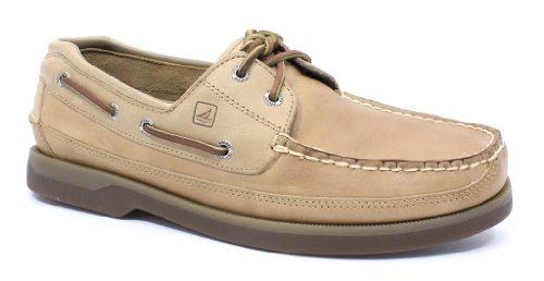 Sperry Sperry Top-Sider Men's Mako 2-Eye Boat Shoe,Oak,10 W