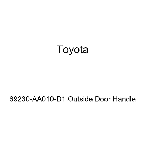Toyota 69230-AA010-D1 Outside Door Handle
