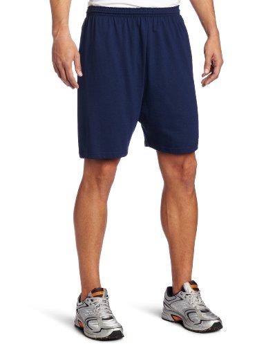 Soffe Jersey - Soffe Men's Heavy Weight Jersey Short Navy X-Large