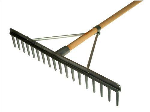 garden rakes. faithfull aluminium landscape rake c/w handle: amazon.co.uk: garden \u0026 outdoors rakes f