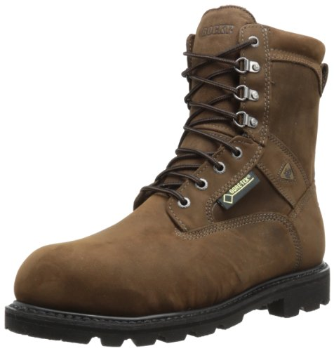 Rocky Men's Ranger Steel Toe Insulated GORE-TEX Boots,Brown,12 W US