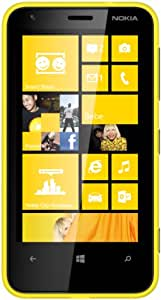 Nokia Lumia 620 Yellow, Factory Unlocked, International Version, Win8 Phone - No Warranty