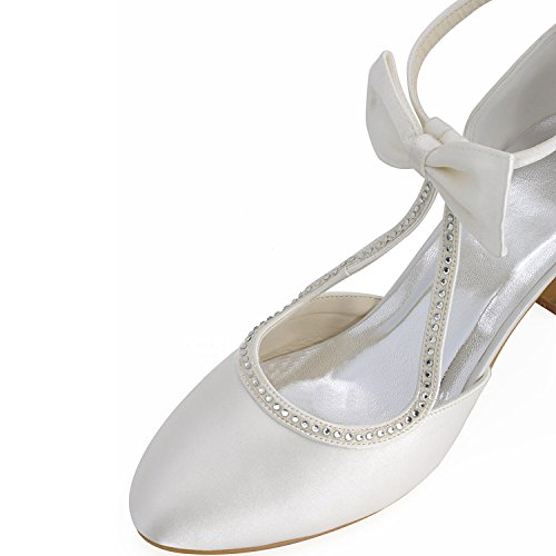 mariage 5cm Chaussures de femme tendance Heel Minitoo 6 Ivory vxECzqnnw