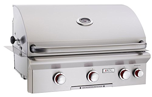 AOG American Outdoor Grill 30NBT-00SP T-Series 30 inch Built-in Natural Gas Grill