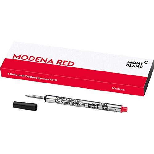 Montblanc 1 Rollerball Capless System Refill (M), Modena Red- 124518