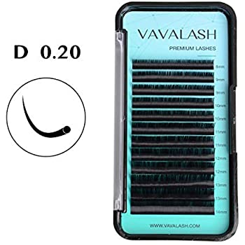 6fbf7173215 Eyelash Extension 0.20 D Curl Mink Eyelash Extensions Individual Lashes  Classic Faux Mink Eyelash Extension Supplies For Salon 13-20mm Mixed Tray  Silk ...