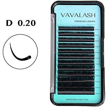 d1cc253f13a Eyelash Extension 0.20 D Curl Mink Eyelash Extensions Individual Lashes  Classic Faux Mink Eyelash Extension Supplies For Salon 13-20mm Mixed Tray  Silk ...