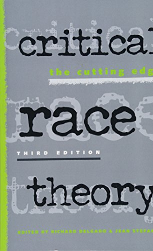 Critical Race Theory: The Cutting Edge by Brand: Temple University Press