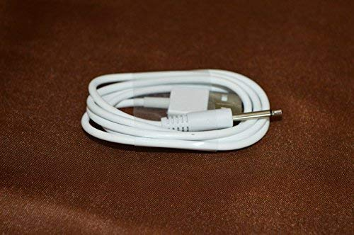 MENTIRO Replacement DC Charging Cable USB Charging Cord 2.5mm (White)