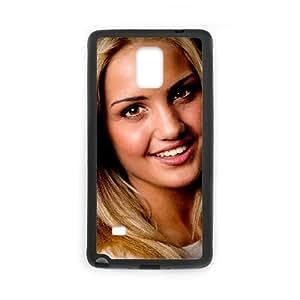 Ina Wroldsen funda Samsung Galaxy Note 4 caja funda del teléfono celular del teléfono celular negro cubierta de la caja funda EEECBCAAJ11578