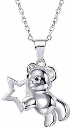 MMC Merry Christmas Deer Horn Silver Pendants Necklaces