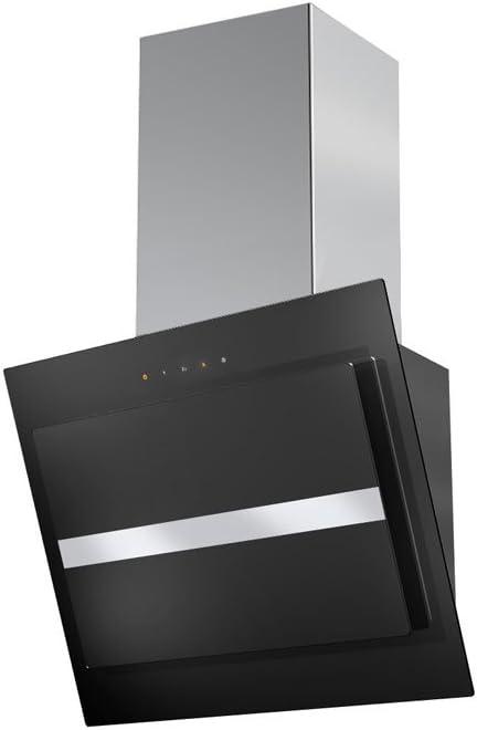 Faber Northia EG8 BK/X A60 690 m³/h De pared Negro, Acero inoxidable A - Campana (690 m³/h, Canalizado/Recirculación, A, A, E, 66 dB): Amazon.es: Hogar