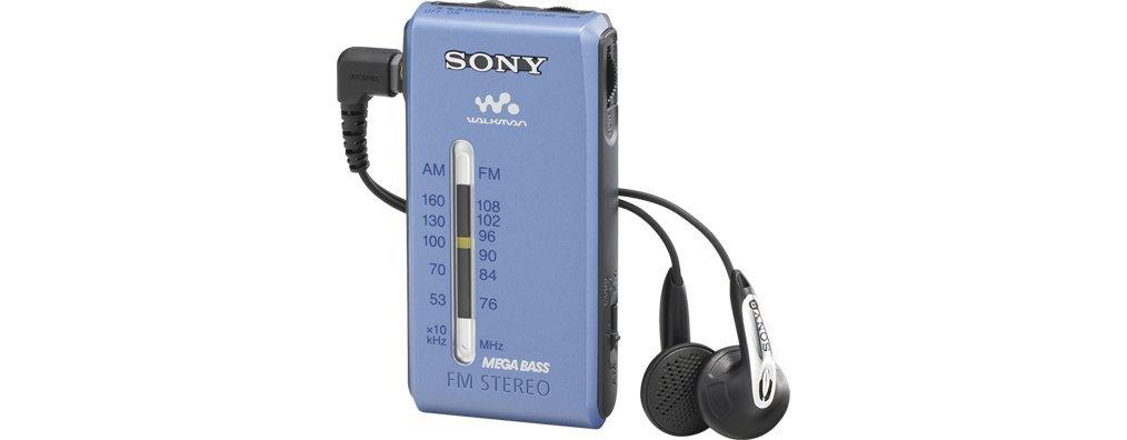 Sony SRFS84N.CE9 - Radio Walkman AM/FM Estéreo, Auriculares Fontopia, Tamaño de Bolsillo, Plata: Sony: Amazon.es: Electrónica