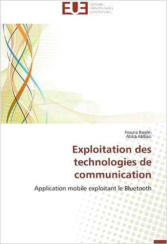 Exploitation des technologies de communication: Application mobile exploitant le Bluetooth pdf, epub