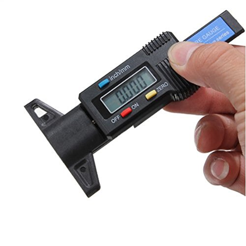 [해외]자동차 트럭 및 SUV, 0-25.4mm에 대한 Rancoo 디지털 타이어 트레드 깊이 게이지 미터 측정기/Rancoo Digital Tire Tread Depth Gauge Meter Measurer for Cars