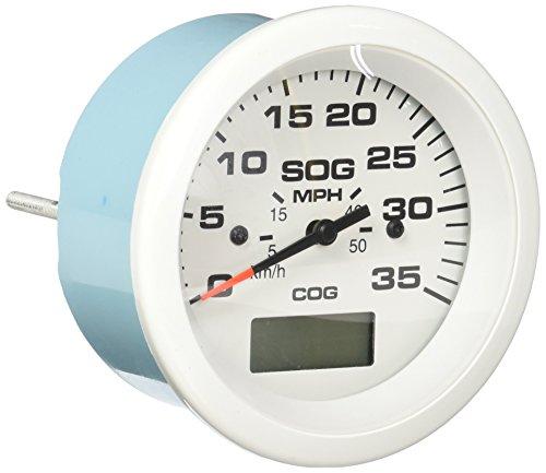 Sierra International 781-683-035P Scratch Resistant Arctic Gauge, 35 MPH GPS Speedometer, 3