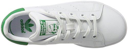 adidas Verde Ginnastica Stan Scarpe da C Ftwbla Smith Bianco Unisex Bambini 000 Basse rdrPxqgn