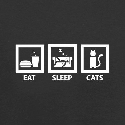 Sleep Black Cats Red Bag Eat Flight Dressdown Retro 5HqTw58