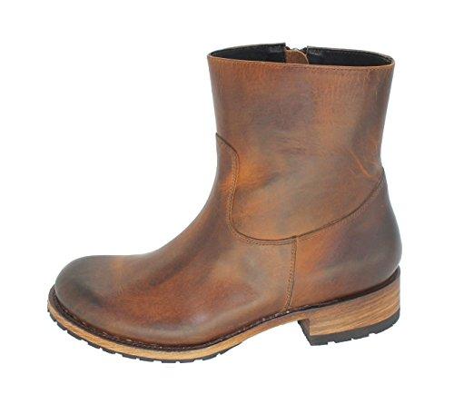 Sendra Boots 9491 Verlichting-s Evoltuion Tan Usado Negro