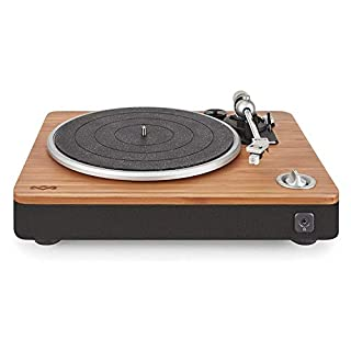 House of Marley, Stir It Up Turntable - 45/33 RPM, EM-JT000-SB Signature Black (Stir It Up)