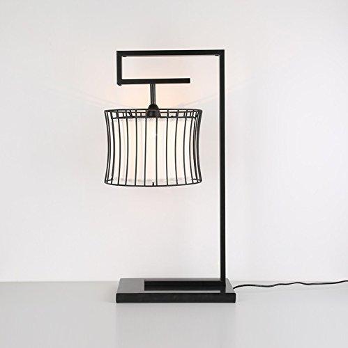 Light Arts Chinesische Tischlampe Nachttisch-Lampe Schlafzimmer Arbeitszimmer Lampe Klassische Eisen Tischlampe