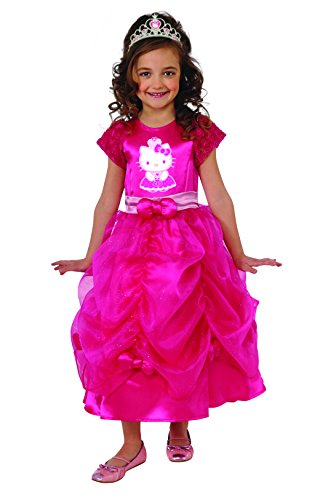 Toddlers And Tiaras Costume Makeup (Rubies Hello Kitty Princess Costume, Toddler Size)
