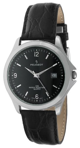 Peugeot Men's 2035RG Analog Display Japanese Quartz Brown Watch
