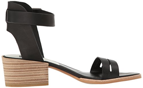 Rae Femmes Sandale Black Cuir Vita Leather Dolce H57qEE