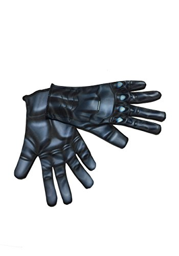 Teen Costumes Black Widow (Rubie's Costume Co Women's Avengers 2 Age Of Ultron Adult Black Widow Gloves, Black, One)