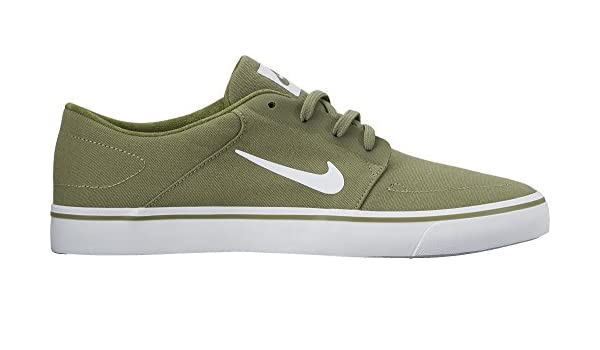competitive price 4df9d 4c24b Nike SB Portmore Canvas Mens Trainers 723874 Sneakers Shoes (UK 10 US 11 EU  45, Palm Green White 311)