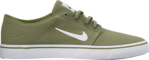 582b4d6f2d2776 NIKE SB Portmore Canvas Mens Trainers 723874 Sneakers Shoes (UK 5.5 US 6 EU  38.5, Palm Green White 311)