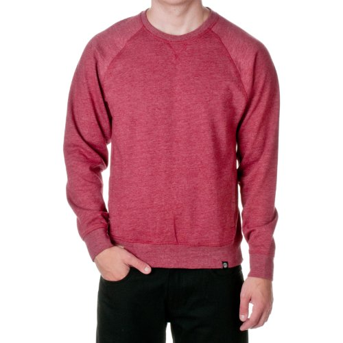 Jordan Craig Men's Cotton Blend Pocket Sweatshirt, Red, X-Large by Jordan Craig