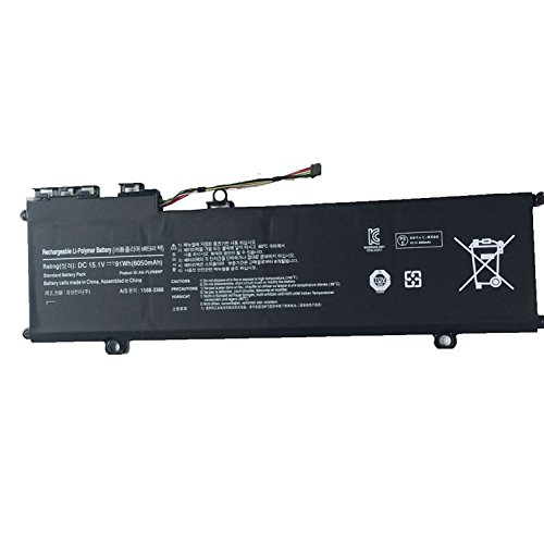 NO1seller Top 91wh 6050mah Aa-plvn8np Battery for Samsung Ativ Book 8 Touch Np880z5e Np880z5e-x01