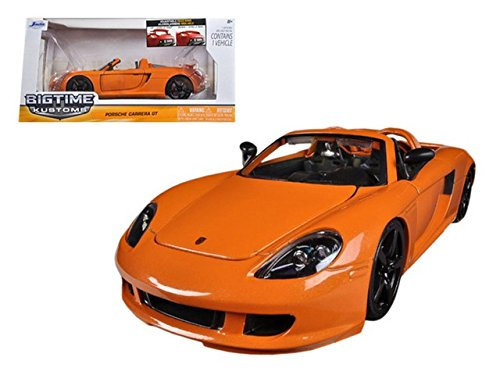 Jada 96955or 2005 Porsche Carrera GT Orange 1-24 Diecast for sale  Delivered anywhere in Canada
